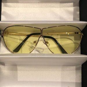Accessories - 💥Buy 2 Get 1 FREE💥 Gold Tone Metal Sunglasses